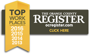 The Orange County Register - Top Places to Work: 2016, 2015, 2014, 2013