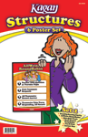 Kagan New Structure Poster Set #2 (6 posters)