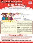 Class Meetings Classroom Management SmartCard