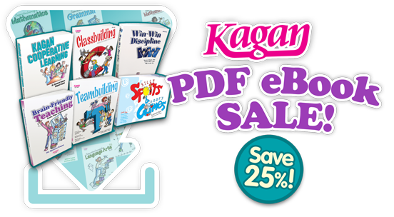 Kagan PDF eBook SALE! Save 25%!