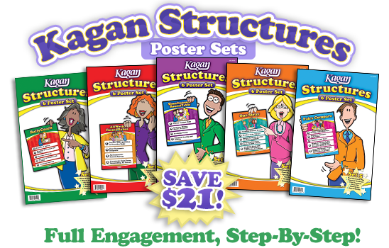 Kagan Structures - Full Engagment, Step-By-Step - Save $21!