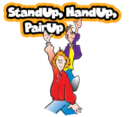 Stand Up, Hand Up, Pair Up