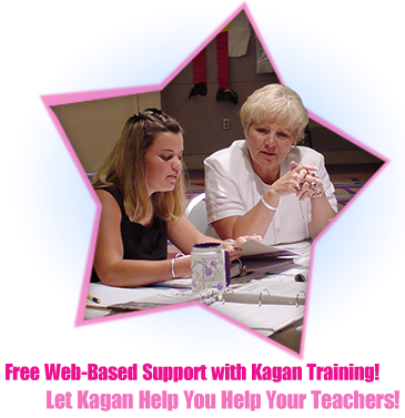 Free Web-Based Support with Kagan Training! Let Kagan Help You Help Your Teachers!